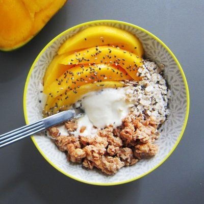 Mango and Yoghurt Muesli