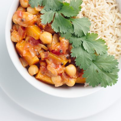 Moroccan Butternut Chickpea Curry