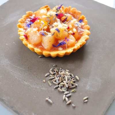 Pear and Lavender Tart