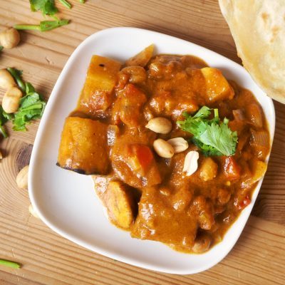 Plantain Peanut Stew
