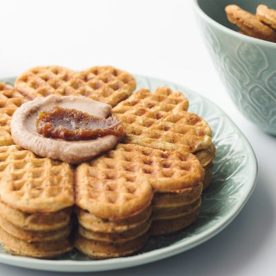 Spiced Chai Belgian Waffles