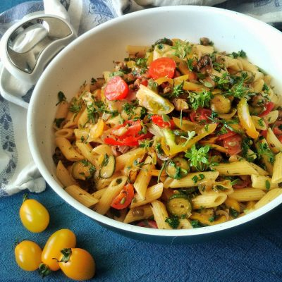 Rustic Summer Vegetable Pasta