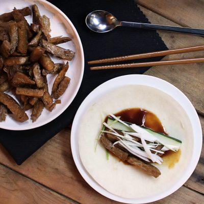 Vegan Peking Duck Pancakes