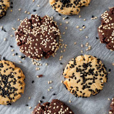 Tahini Cookies Two Ways