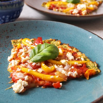 Courgette Crust Pizza