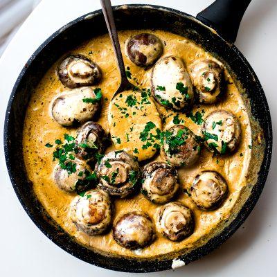Creamy Mushroom Skillet