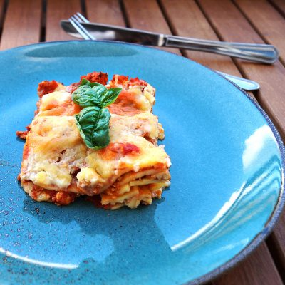 Homemade Vegan Lasagne