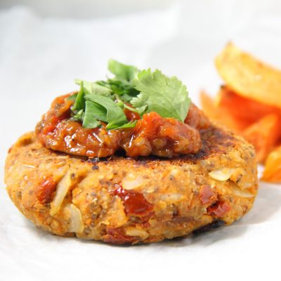 Superfood Butter Bean Burgers