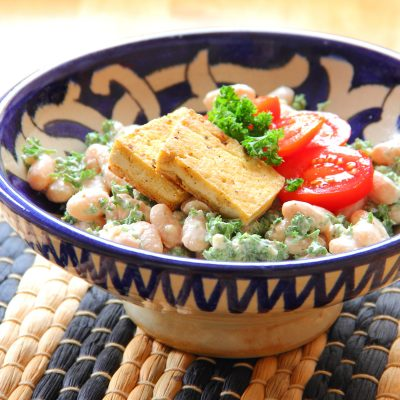 Turkish White Bean Salad