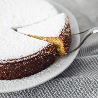 Vegan Coconut Polenta Cake